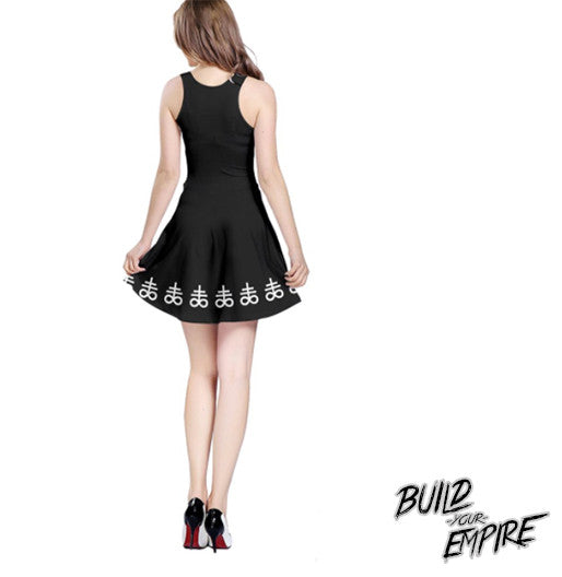 Satanic Sinners Dress | Dress | Nu Goth & Alternative Apparel | Build Your Empire Clothing Co.