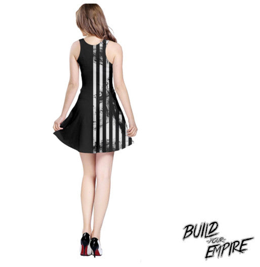 Two Faced Duality Dress | Dress | Nu Goth & Alternative Apparel | Build Your Empire Clothing Co.
