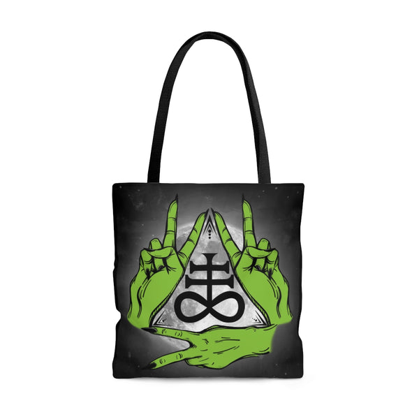 Peace and Brimstone Bag | Tote Bag | Nu Goth & Alternative Apparel | Build Your Empire Clothing Co.