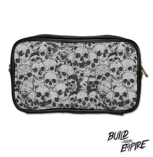 Pile of Skulls Clutch Purse | Clutch | Nu Goth & Alternative Apparel | Build Your Empire Clothing Co.