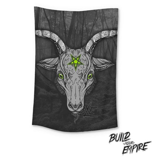 Sacrifice Wall Tapestry | Tapestry | Nu Goth & Alternative Apparel | Build Your Empire Clothing Co.