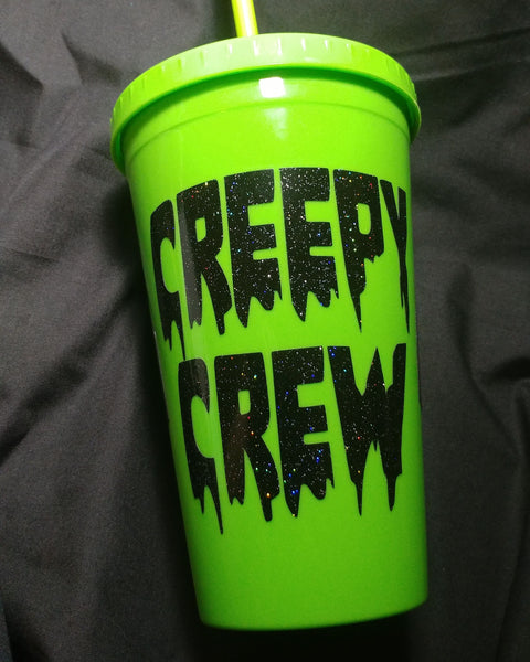Creepy Crew Tumbler / Insulated Bottle | Tumbler | Nu Goth & Alternative Apparel | Build Your Empire Clothing Co.