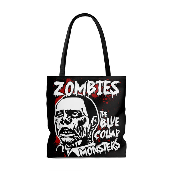 Rot in Pieces Tote Bag | Tote Bag | Nu Goth & Alternative Apparel | Build Your Empire Clothing Co.