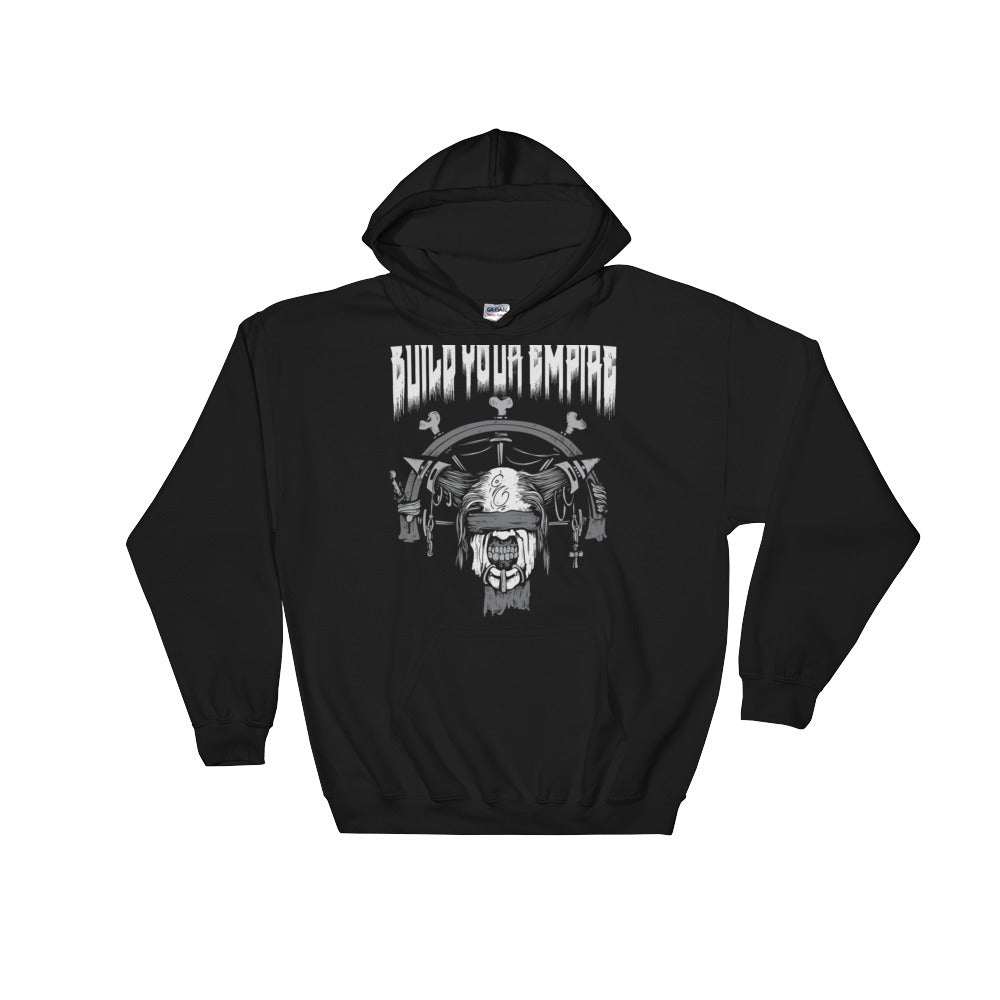 Build Your Empire Bondage Black Unisex Hooded Sweatshirt | Hoodie | Nu Goth & Alternative Apparel | Build Your Empire Clothing Co.