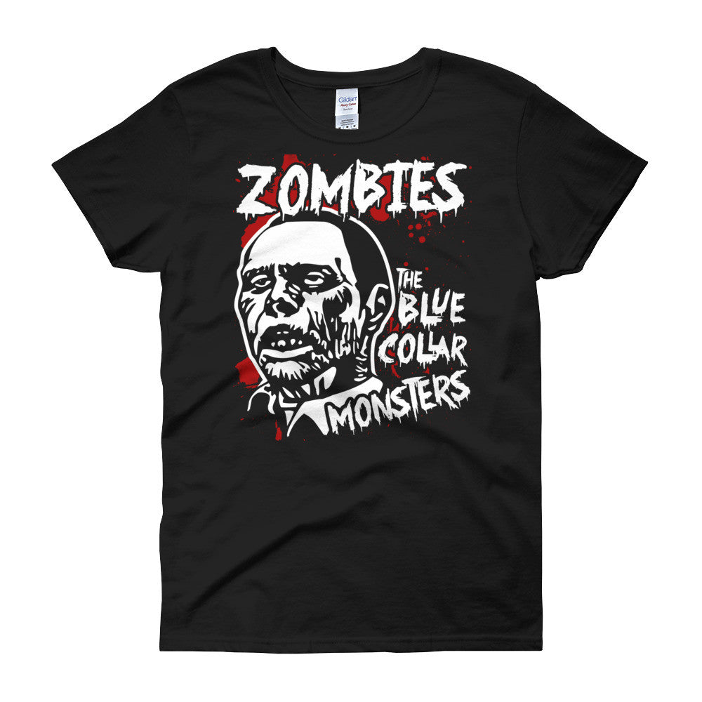 Rot in Pieces Zombie Women's T Shirt | Women's Shirts | Nu Goth & Alternative Apparel | Build Your Empire Clothing Co.