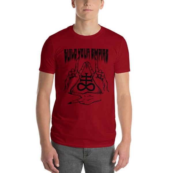 Build Your Empire Peace & Brimstone T Shirt | Men's Shirt | Nu Goth & Alternative Apparel | Build Your Empire Clothing Co.