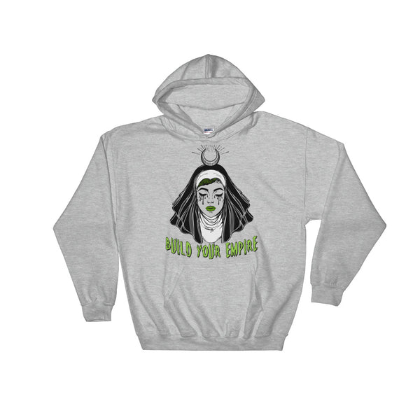 Sister Sinner Unisex Hooded Sweatshirt | Hoodie | Nu Goth & Alternative Apparel | Build Your Empire Clothing Co.