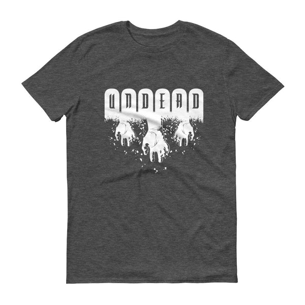 Undead Black T Shirt | Men's Shirt | Nu Goth & Alternative Apparel | Build Your Empire Clothing Co.
