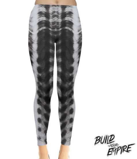 Alien Armor Leggings | Leggings | Nu Goth & Alternative Apparel | Build Your Empire Clothing Co.