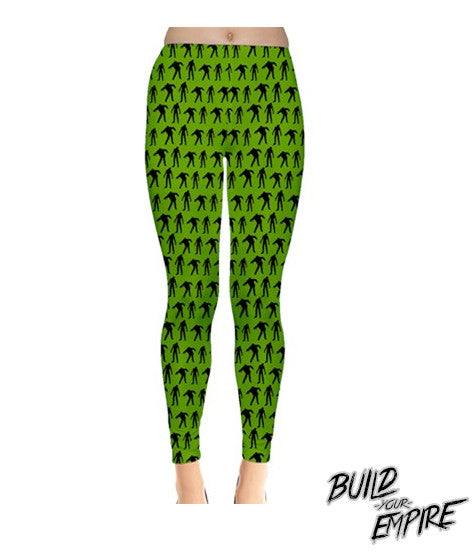 Zombie Walker Leggings | Leggings | Nu Goth & Alternative Apparel | Build Your Empire Clothing Co.