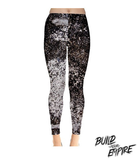Galaxy Splatter Leggings | Leggings | Nu Goth & Alternative Apparel | Build Your Empire Clothing Co.