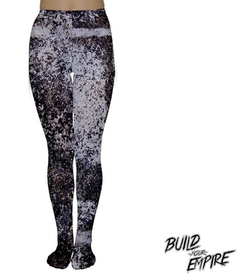 Galaxy Splatter Tights | Tights | Nu Goth & Alternative Apparel | Build Your Empire Clothing Co.