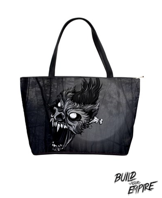 Midnight Were-Bat Handbag | Purse | Nu Goth & Alternative Apparel | Build Your Empire Clothing Co.