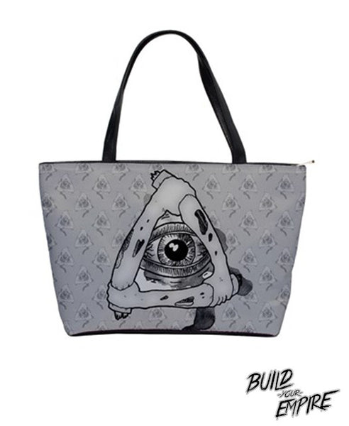 Illuminati Handbag | Purse | Nu Goth & Alternative Apparel | Build Your Empire Clothing Co.
