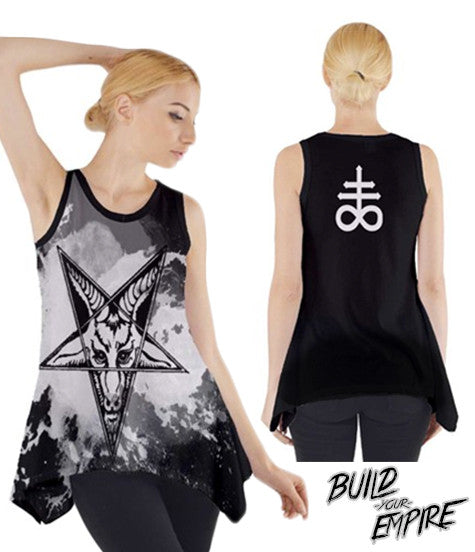 Question Everything Tank | Women's Shirts | Nu Goth & Alternative Apparel | Build Your Empire Clothing Co.
