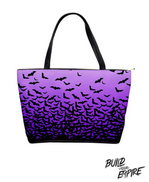 Fade to Bats Handbag | Purse | Nu Goth & Alternative Apparel | Build Your Empire Clothing Co.