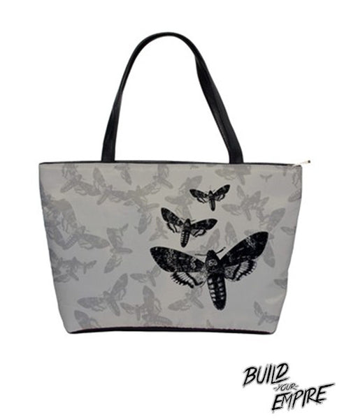 Moth to Flames Handbag | Purse | Nu Goth & Alternative Apparel | Build Your Empire Clothing Co.