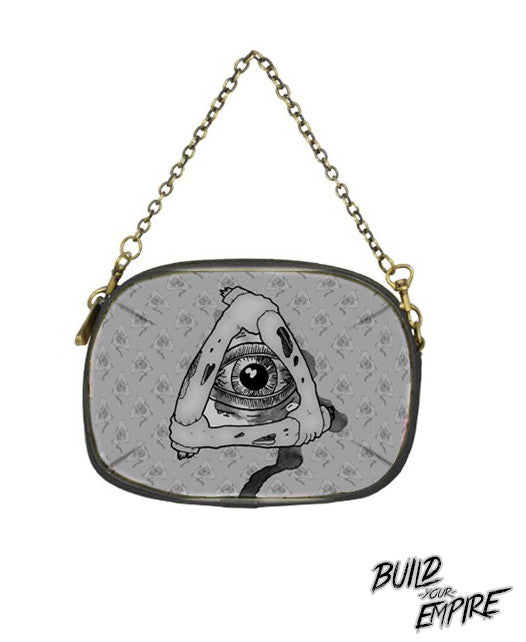 Illuminati Clutch Purse | Clutch | Nu Goth & Alternative Apparel | Build Your Empire Clothing Co.