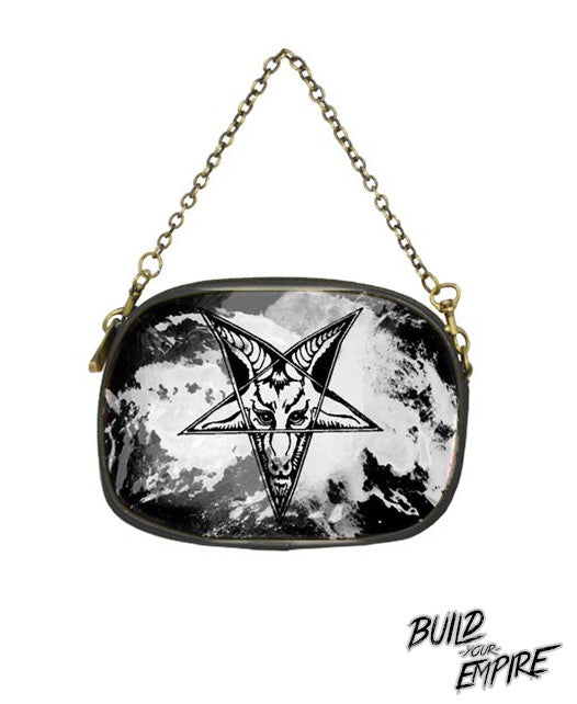 Question Everything Clutch Purse | Clutch | Nu Goth & Alternative Apparel | Build Your Empire Clothing Co.