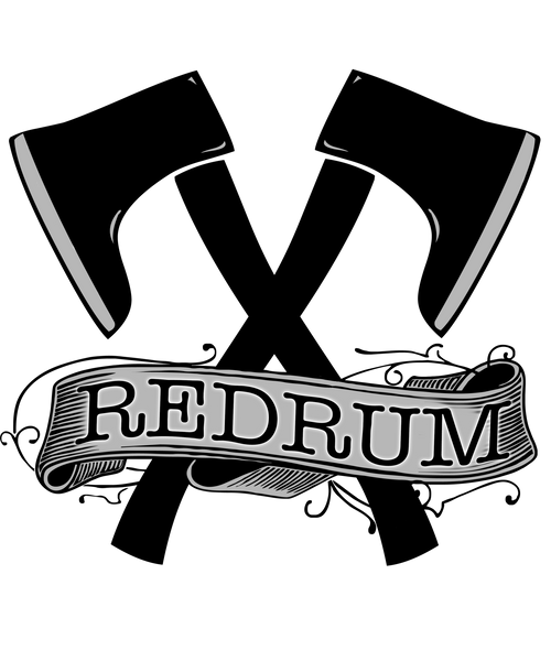 Red Rum T Shirt | Men's Shirt | Nu Goth & Alternative Apparel | Build Your Empire Clothing Co.