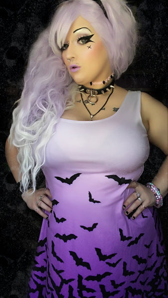 Fade to Bats Dress | Dress | Nu Goth & Alternative Apparel | Build Your Empire Clothing Co.