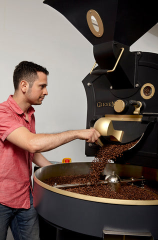 Ikon Coffee roasting story image