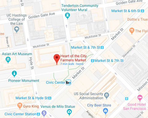 Civic Center Farmers Market location