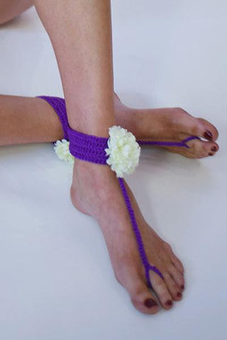 Ankle Bracelet - Flower