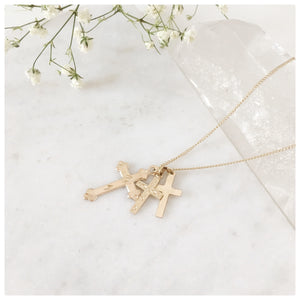 Vintage Cross Necklace - New Vie Shop