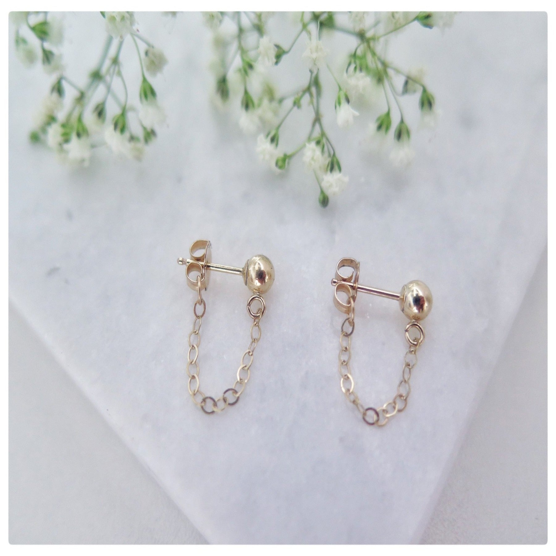 Drop Earrings Chain - New Vie Shop