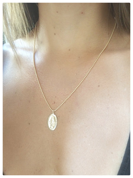 Saint Mary Necklace - New Vie Shop
