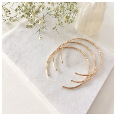 Hammered Stacking Cuff Bracelet - New Vie Shop