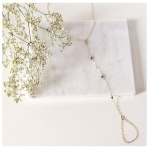 Beaded Foot Chain Anklet - New Vie Shop