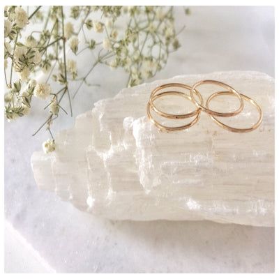 Thin Stacking Rings - New Vie Shop
