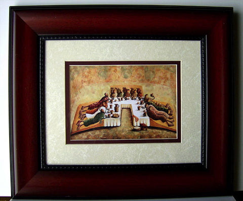 The Lord's Last Supper (Framed)