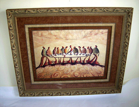 """The Last Supper"" (Lithograph) Framed"