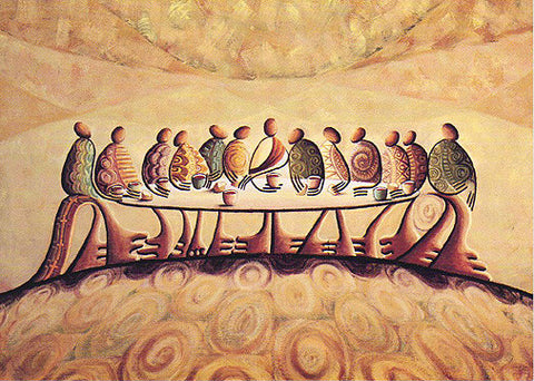 """The Last Supper"" (Giclee on Canvas)"