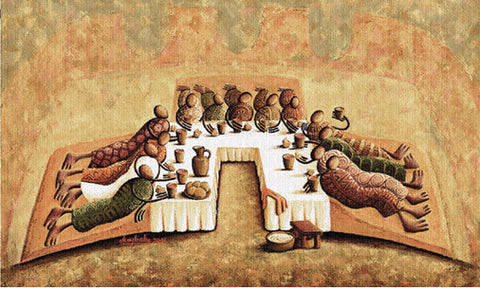 """The Lord's Last Supper"" Grande Tapestry Wall Hanging"