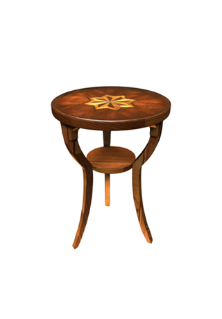 Dalton Plantation Cherry Accent Table