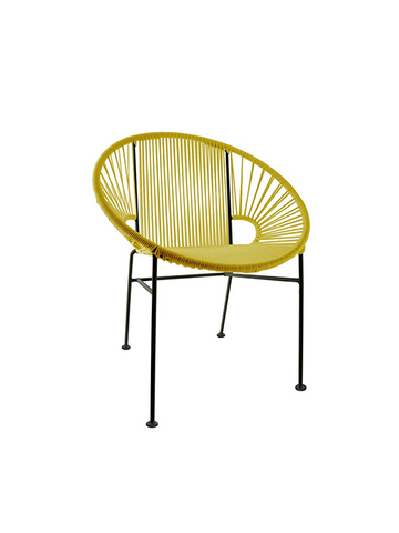Concha Chair   Yellow