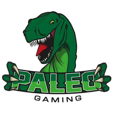 Paleo Gaming Zip-up Hooded Sweatshirt