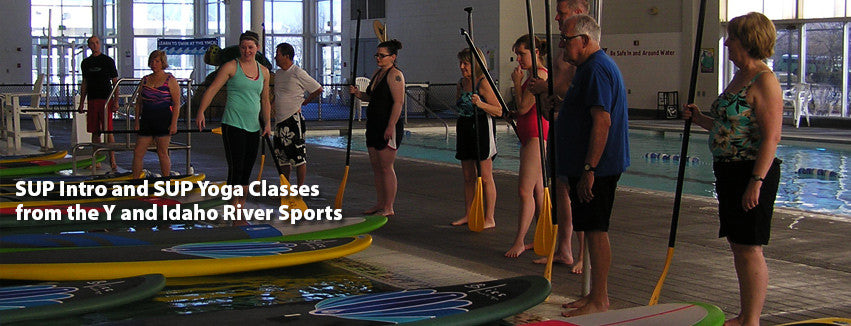 SUPSundays: SUP Intro at the West Boise Y