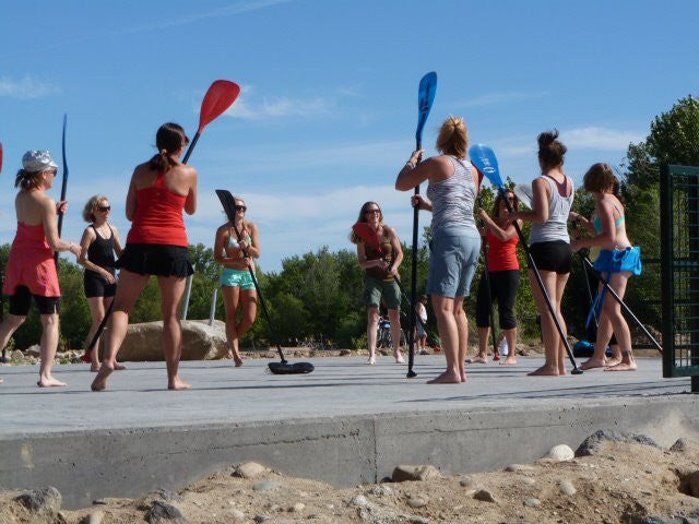 Stand Up Paddleboard SUP Fitness Classes