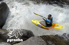 pyranha crossover whitewater kayaks
