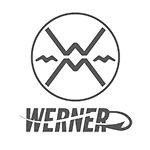 Werner Hooked fishing paddles