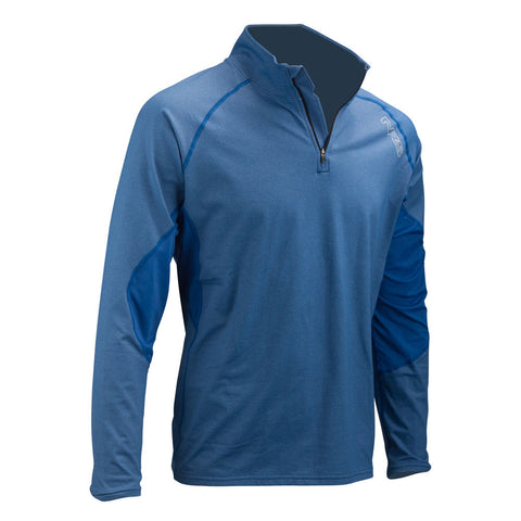 NRS Men's H2Core Lightweight Zip-Neck Shirt