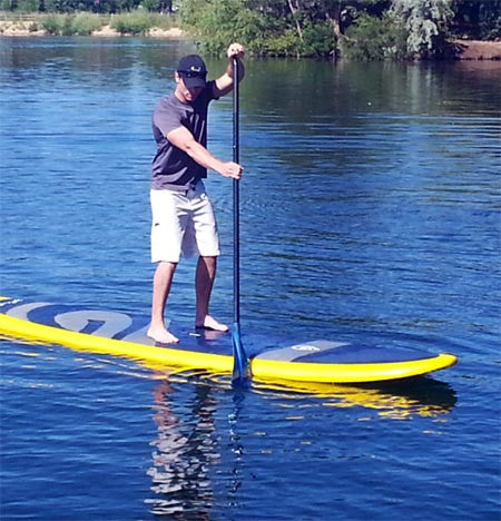 Single SUP Fitness Class