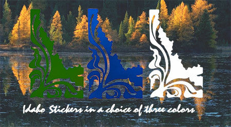 Idaho Stickers by Jayne Saunders