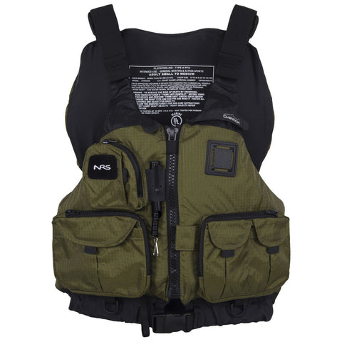 NRS Chinook Mesh Back Fishing PFD
