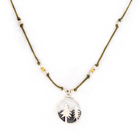 LANDSCAPE NECKLACE - FOREST